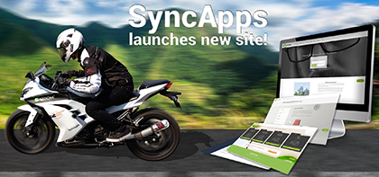 Cazoomi worldwide teams launch highly anticipated SyncApps mobile ready product site designed from the ground up.