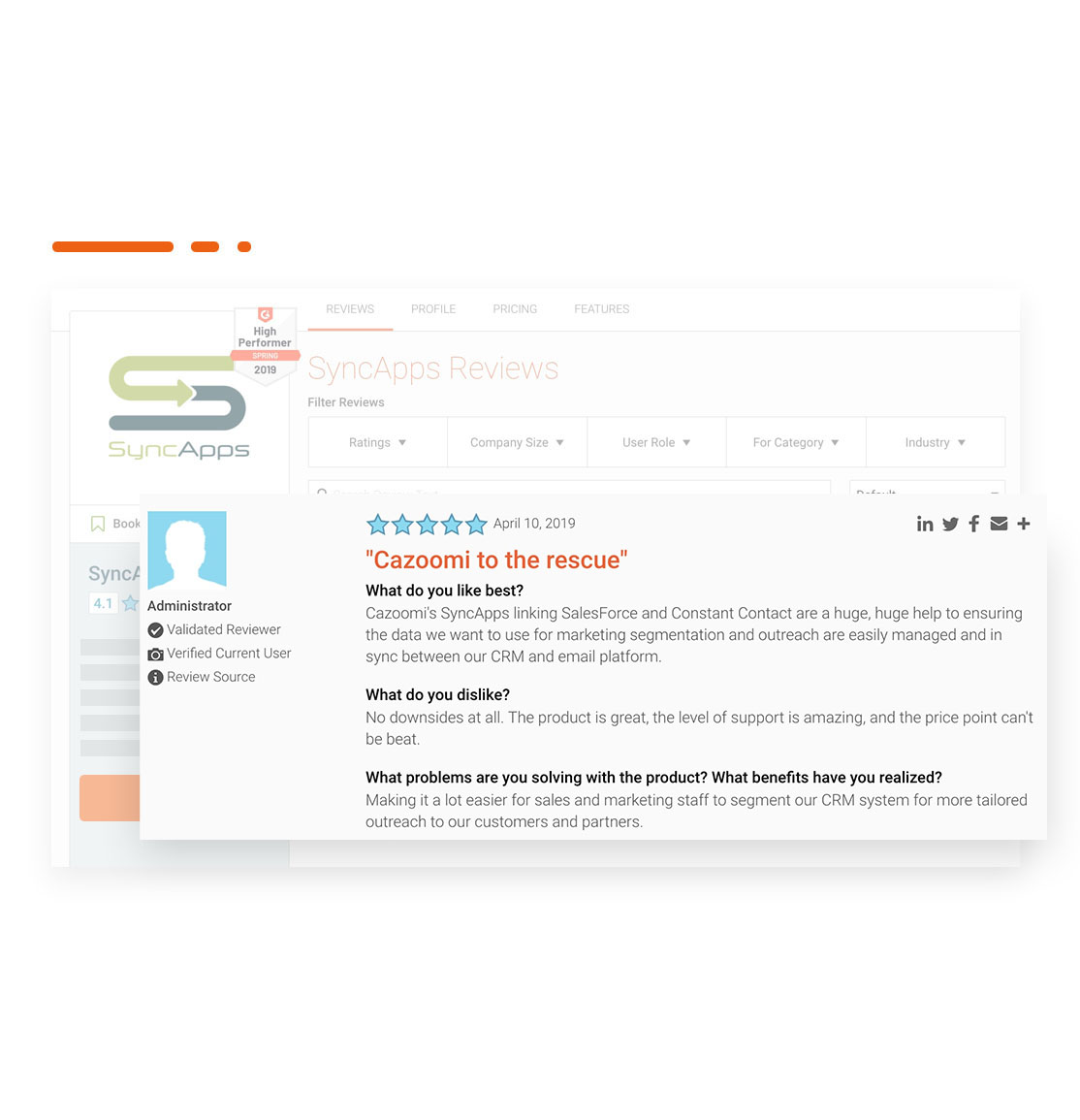 G2 Crowd Reviews